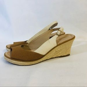🐸 Lands end Sandals With heal Strap On Adjustable